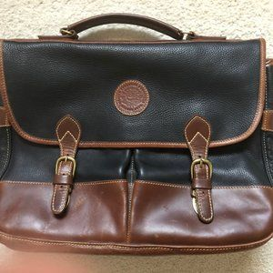 Vintage Canadian Pacific Pebbled Leather Briefcase